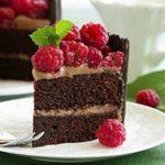 Малиновые десерты и торты с выпечкой и без, фото
