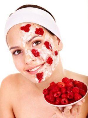 домашние маски из малины для жирной кожи