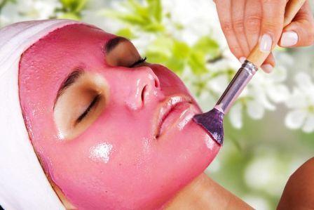 Очищающие маски лица жирной кожи из малины