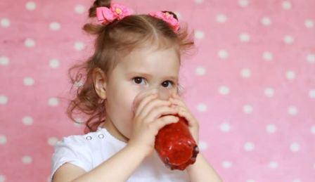 Кисель из малины, напитки из малины детям