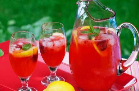 Как сделать коктейль из малины