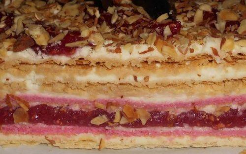 как готовить малиновый торт от Палыча