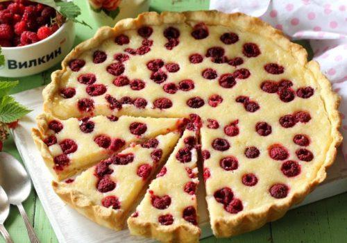 Несколько чудесных рецептов изделий с ароматными ягодами малины